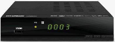 Ресивер DVB-T2 HYUNDAI H-DVB03T2,  черный