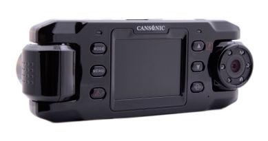 Видеорегистратор CANSONIC TwinsСam FDV-700GPS синий