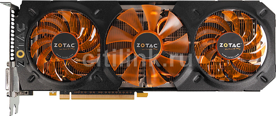 Видеокарта ZOTAC GeForce GTX 780,  ZT-70205-10P,  3Гб, GDDR5, OC,  Ret