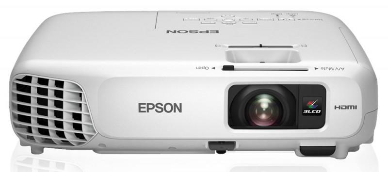 Проектор EPSON EB-X18 белый [v11h551040]