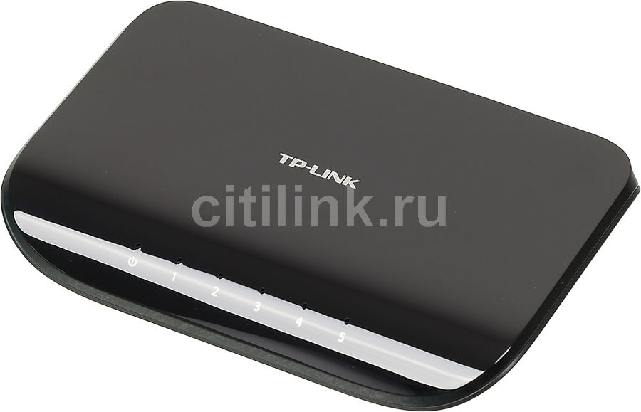 Коммутатор TP-LINK TL-SG1005D адаптер power over ethernet tp link tl poe10r