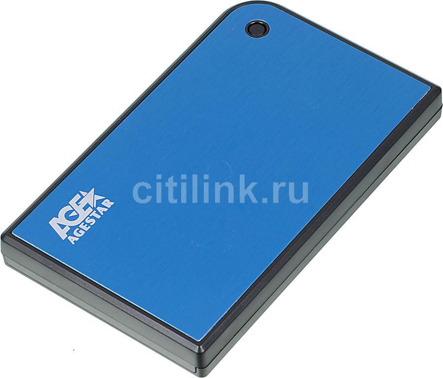 Внешний корпус для  HDD/SSD AGESTAR 3UB2A14, синий