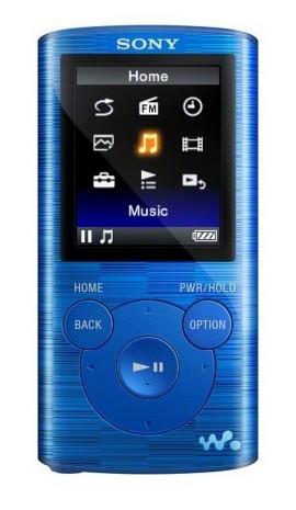 MP3 плеер SONY NWZ-E383 flash 4Гб голубой [nwze383l.ee]