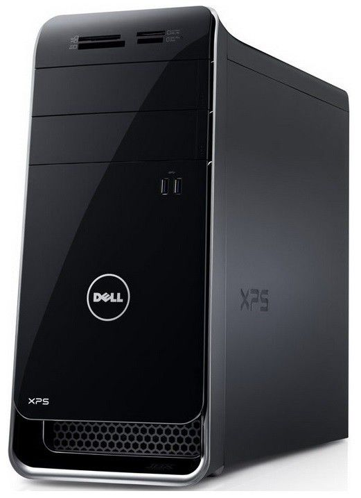 Компьютер  DELL XPS 8700,  Intel  Core i7  4770,  DDR3 12Гб, 2Тб,  nVIDIA GeForce GTX 660 - 1536 Мб,  DVD-RW,  Windows 8,  черный [8700-7338]