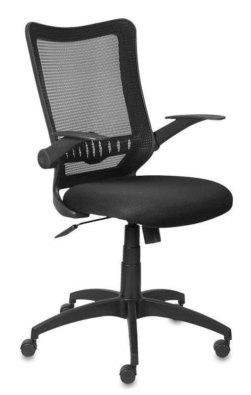 Кресло БЮРОКРАТ CH-699, на колесиках, ткань, черный [ch-699/tw-11]