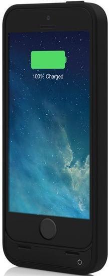 Чехол-аккумулятор INCIPIO OffGrid, 2600 мАч, для Apple iPhone 5/5S, черный [iph-891]