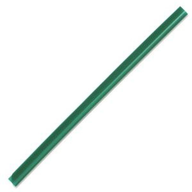 Скрепкошина Durable 2901-05 60листов 13х6мм A4 зеленый (упак.:100шт)