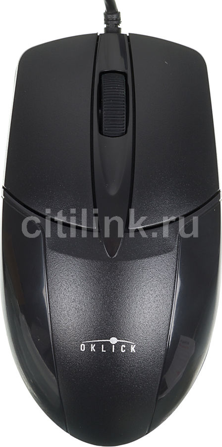 Мышь OKLICK 145M оптическая проводная USB, черный kiss hd mini nail polish mnp15 цвет mnp15 экзотический паупау variant hex name 9bd7e2