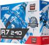 Видеокарта MSI Radeon R7 240,  R7 240 2GD3 LP,  2Гб, DDR3, Low Profile,  Ret вид 6