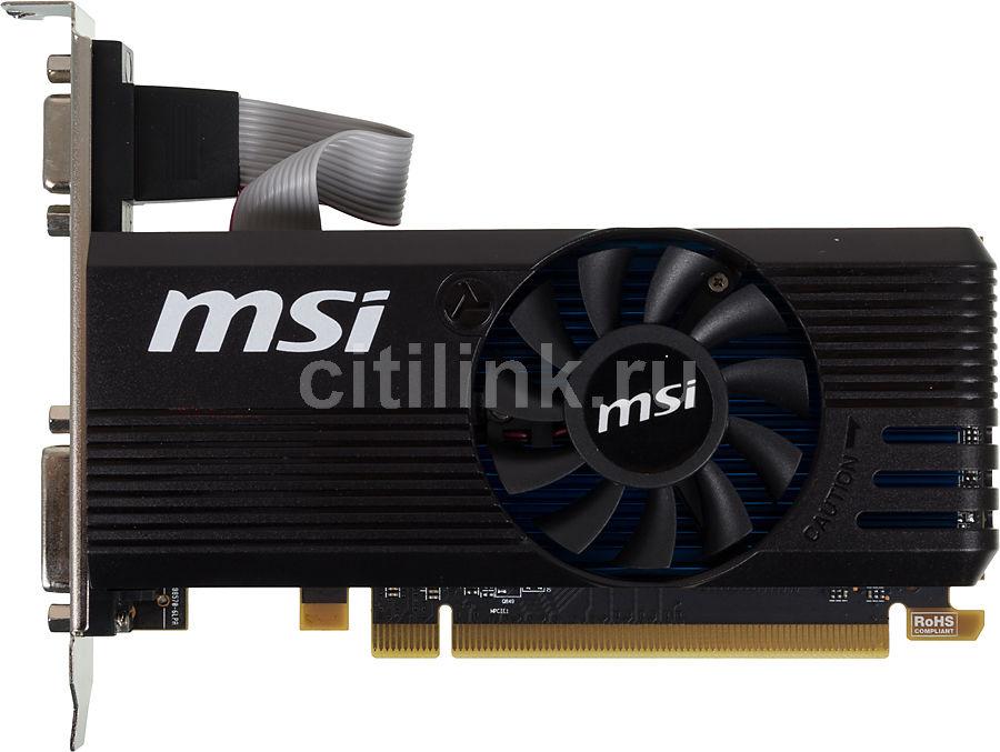 Видеокарта MSI Radeon R7 240,  R7 240 2GD3 LP,  2Гб, DDR3, Low Profile,  Ret