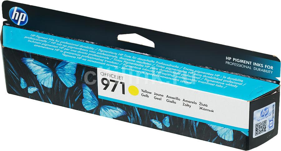 Картридж HP 971 желтый [cn624ae]