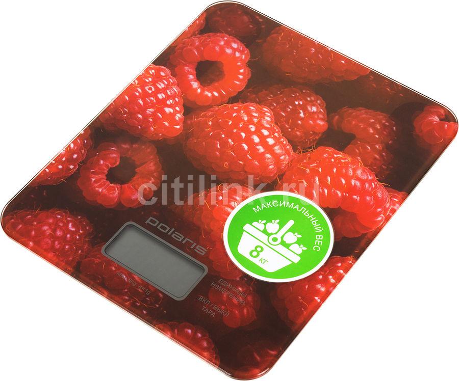 Весы кухонные POLARIS PKS0832DG,  красный