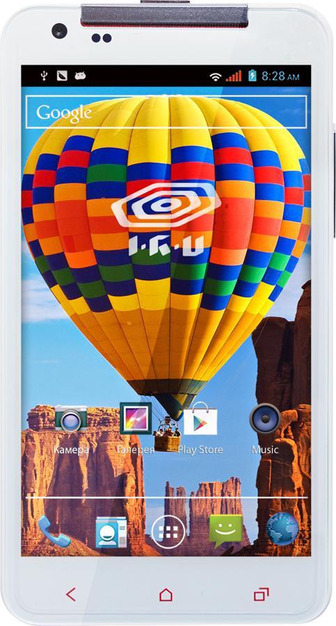 Смартфон IRU M506  белый