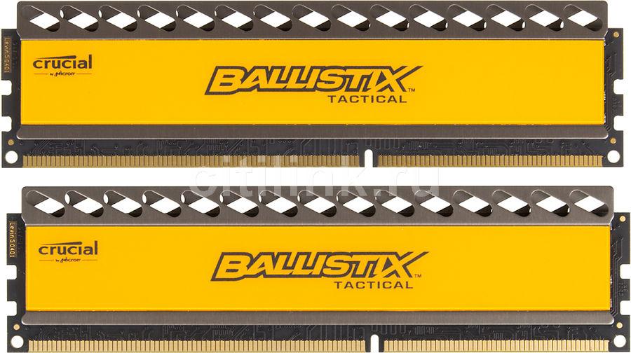 Модуль памяти CRUCIAL BLT2CP4G3D1869DT1TX0CEU DDR3 -  2x 4Гб 1866, DIMM,  Ret