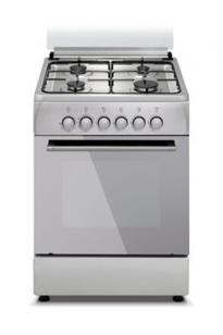 Газовая плита SIMFER F 5402 ZGRH,  газовая духовка,  серебристый
