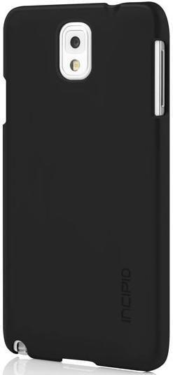Чехол (клип-кейс) INCIPIO Feather, для Samsung Galaxy Note 3, черный [sa-483-blk]