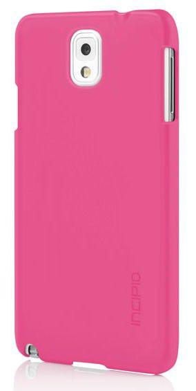 Чехол (клип-кейс) INCIPIO Feather, для Samsung Galaxy Note 3, розовый [sa-483-pnk]