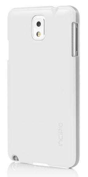 Чехол (клип-кейс) INCIPIO Feather Shine, для Samsung Galaxy Note 3, белый [sa-484-wht]