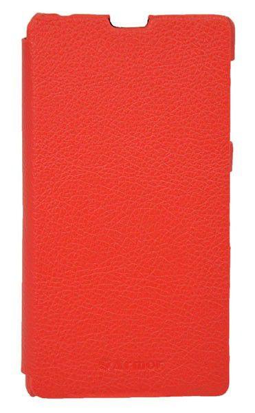 Чехол (флип-кейс) ARMOR-X book, для Sony Xperia Z1, красный