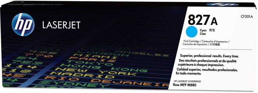 Картридж HP 827A голубой [cf301a]