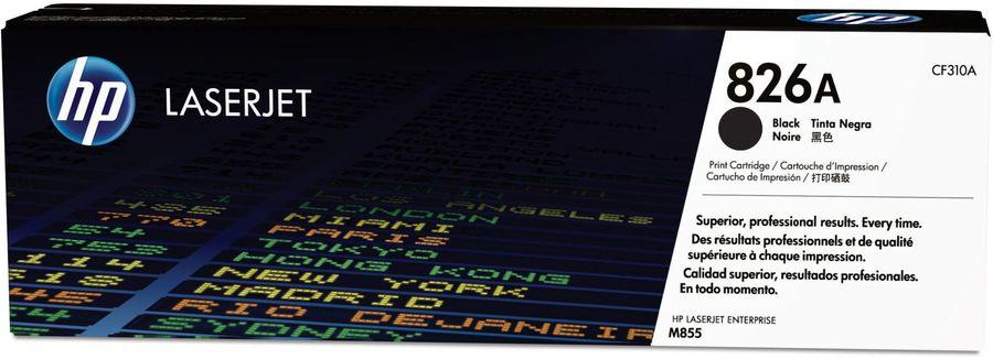 Картридж HP 826A черный [cf310a]