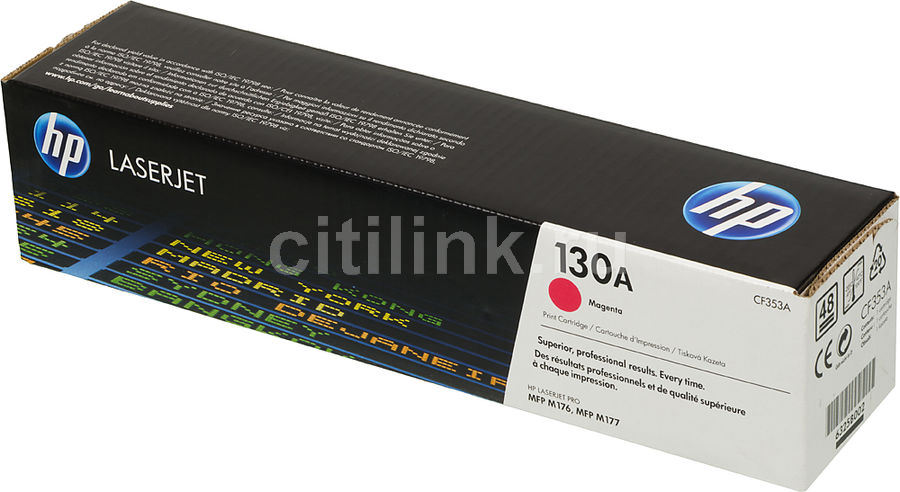 Картридж HP 130A, пурпурный [cf353a]