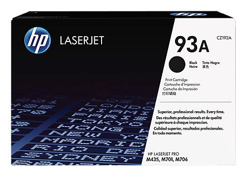 Картридж HP 93A черный [cz192a]