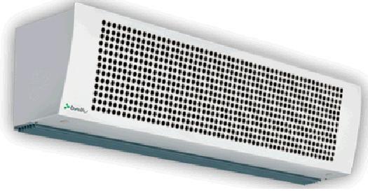 Тепловая завеса BALLU BHC-6.000TR, 6кВт белый
