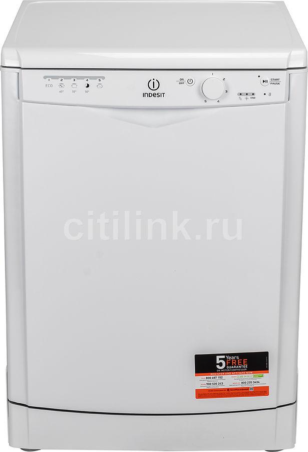 Посудомоечная машина INDESIT DFG 15B10 EU,  полноразмерная, белая