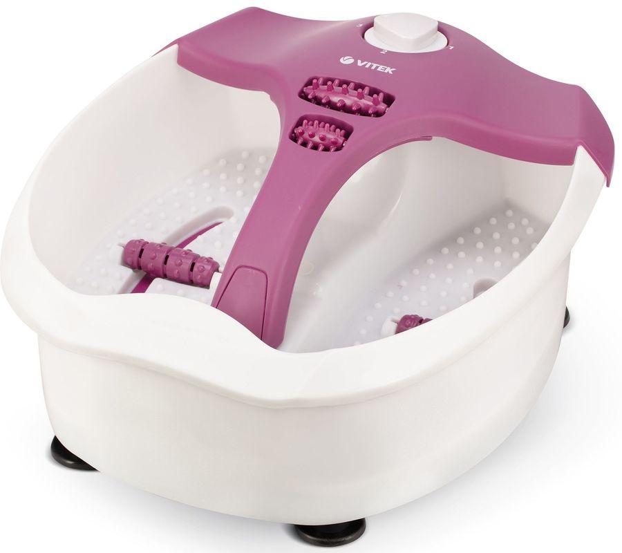 Гидромассажная ванночка для ног VITEK VT-1799 VT,  белый,  фиолетовый