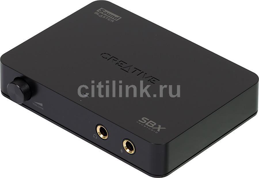 Звуковая карта USB CREATIVE X-Fi HD Sound Blaster SB1240,  2.0, Ret [70sb124000005]