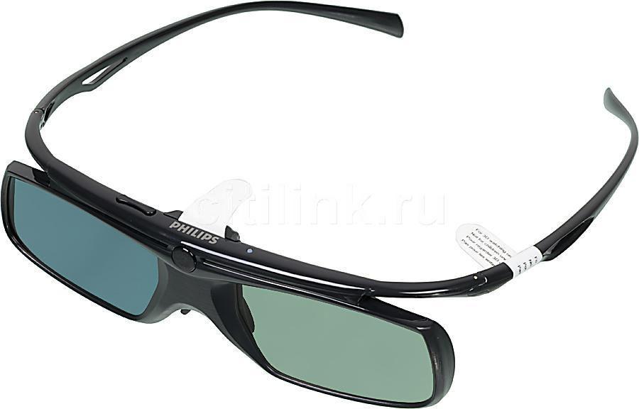Очки 3D PHILIPS PTA509/00,  1 шт,  черный