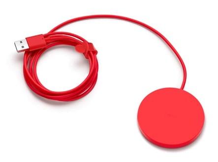 Беспроводное зарядное устройство NOKIA DT-601,  красный