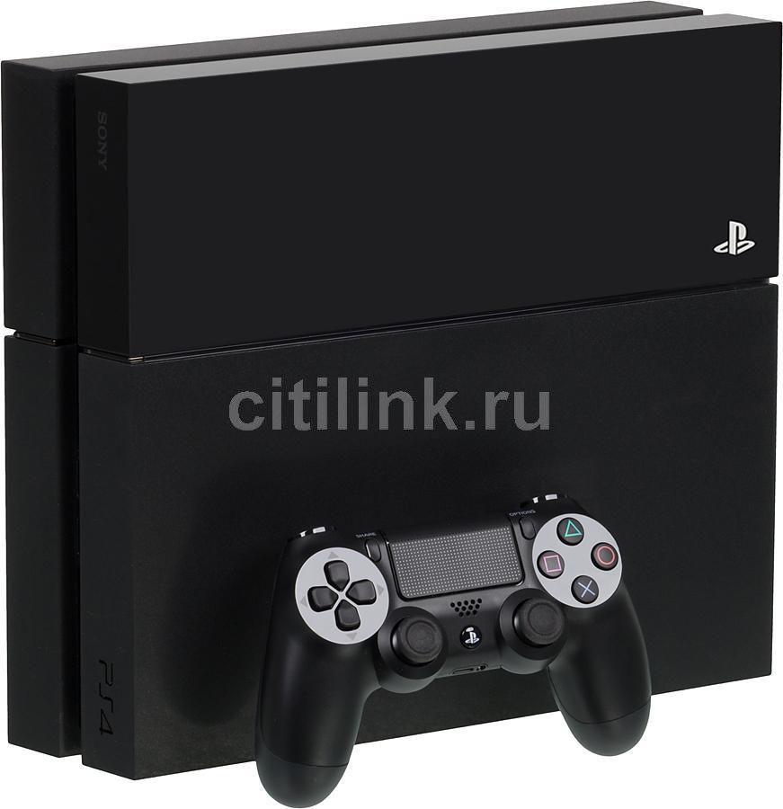 Игровая консоль SONY PlayStation 4 PS719268574, черный