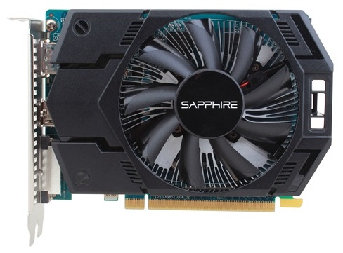 Видеокарта SAPPHIRE Radeon HD 7770,  1Гб, GDDR5, oem [11201-25-10g]