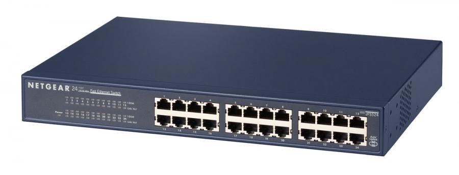 Коммутатор NETGEAR ProSafe JFS524-200EUS, JFS524-200EUS