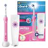 Электрическая зубная щетка ORAL-B Pink Professional Care 1000 розовый вид 2