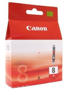 Картридж CANON CLI-8R красный [0626b001]