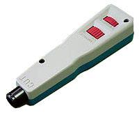 Инструмент обжимной Lanmaster (LAN-PND) для разделки контактов +без ножей (упак:1шт) белый