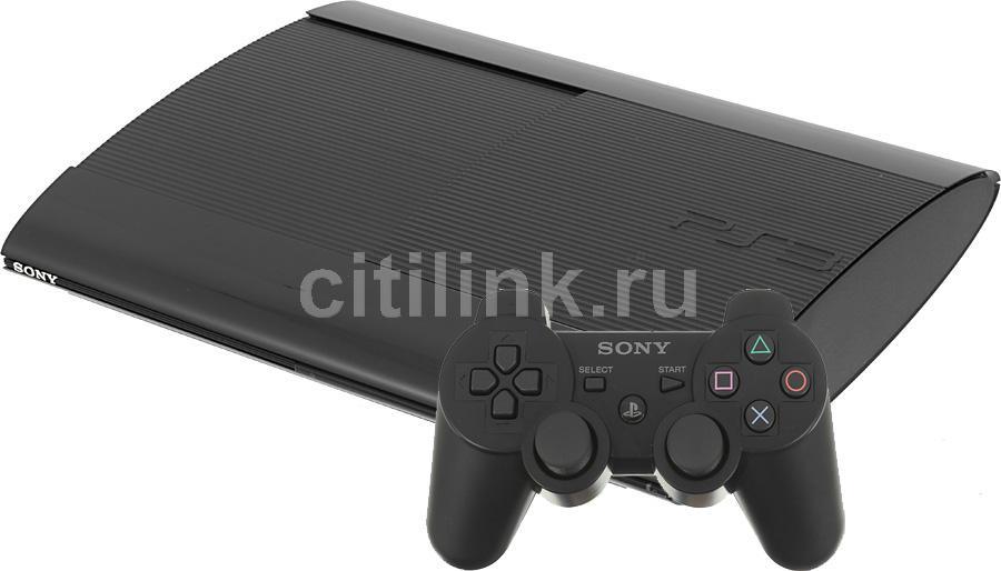 Игровая консоль SONY PlayStation 3 PS719422013, черный