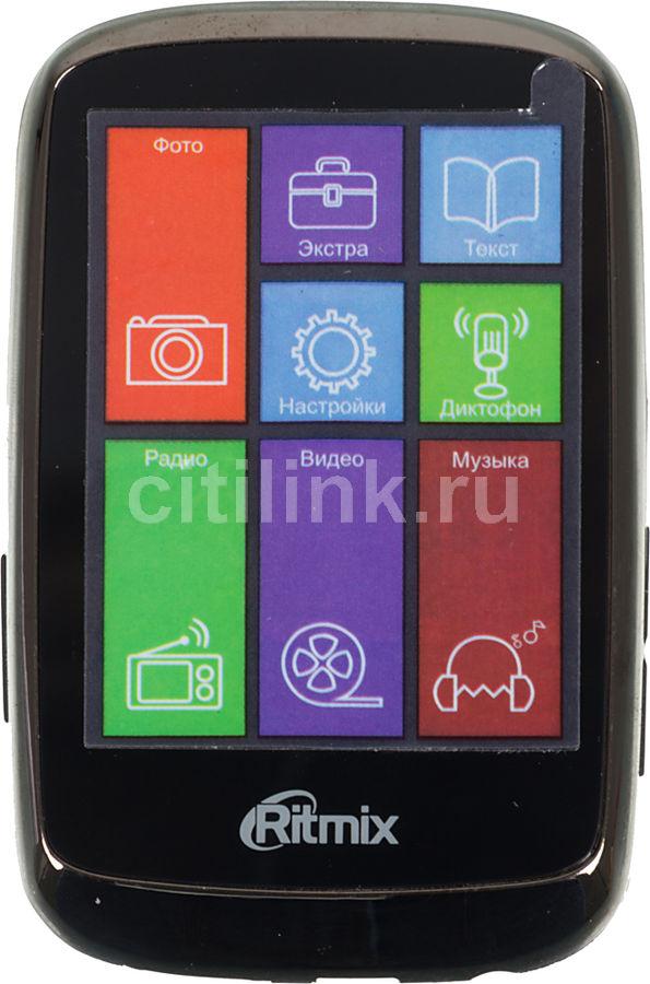 MP3 плеер RITMIX RF-8300 flash 4Гб черный [15116774]