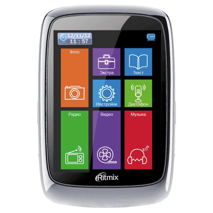 MP3 плеер RITMIX RF-8300 flash 8Гб черный