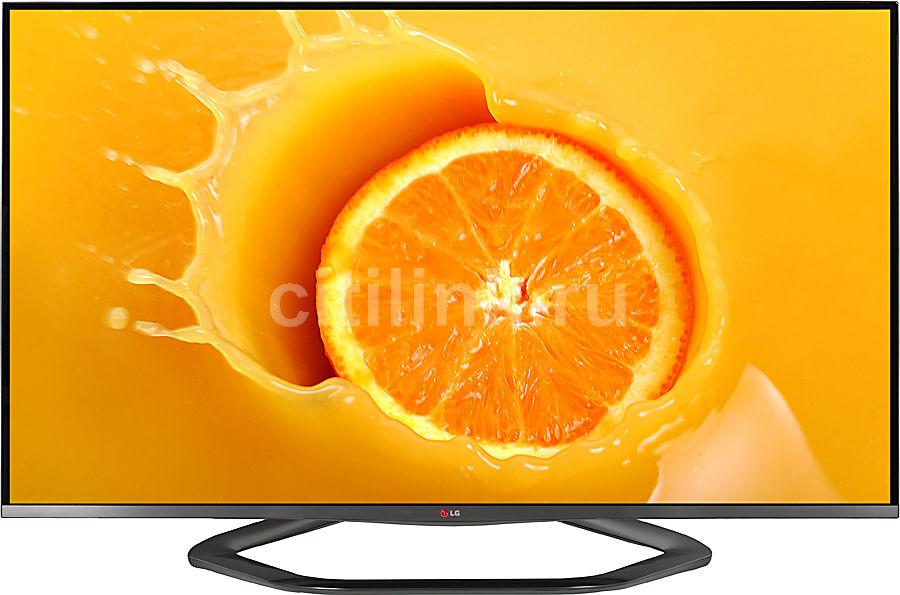 """LED телевизор LG 55LA710V  """"R"""", 55"""", 3D,  FULL HD (1080p),  серебристый"""