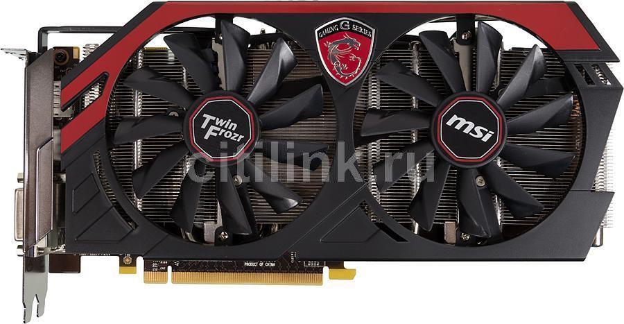 Видеокарта MSI GeForce GTX 760,  4Гб, GDDR5, OC,  Ret [n760 tf 4gd5/oc]