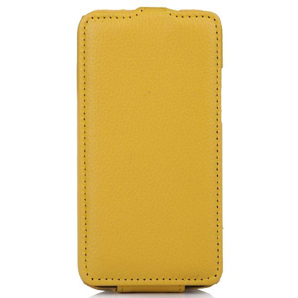 Чехол (флип-кейс) ARMOR-X flip full, для HTC Desire 300, желтый
