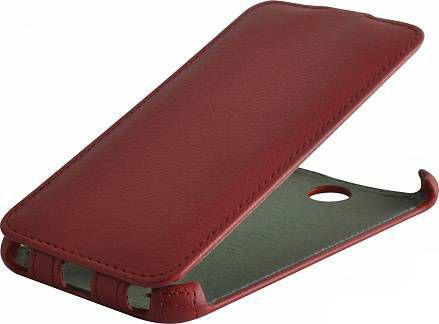Чехол (флип-кейс) ARMOR-X flip full, для HTC Desire 300, красный