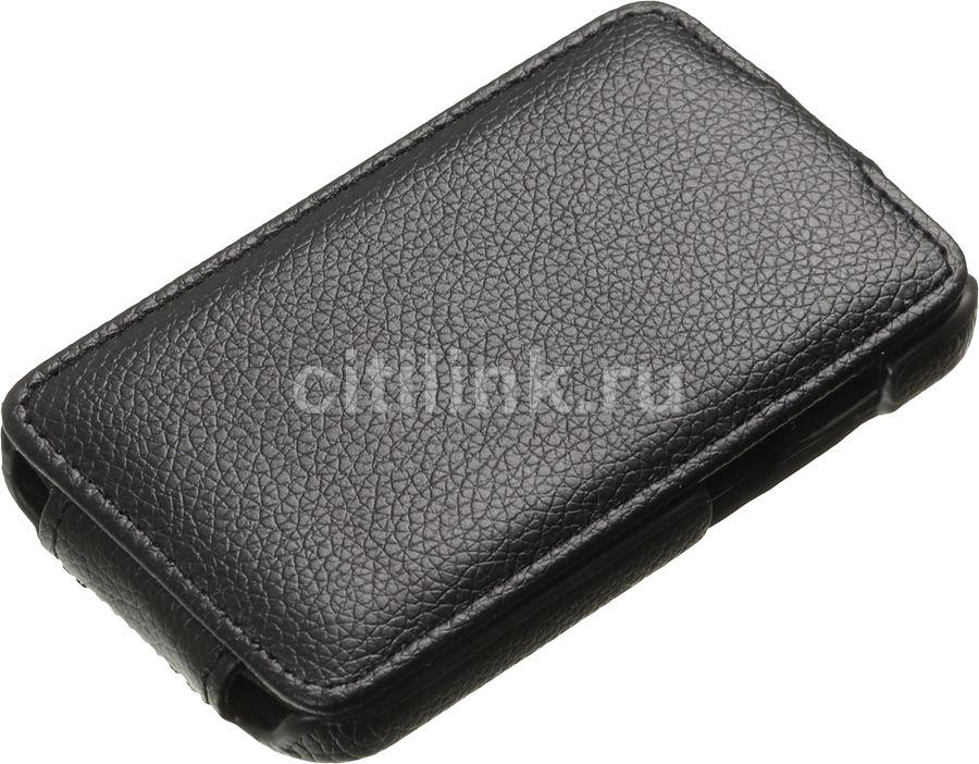 Чехол (флип-кейс) ARMOR-X flip full, для HTC Desire 200, черный