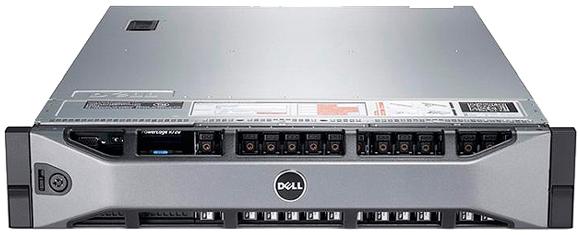 Сервер Dell PE R720 2xE5-2643/ x8 SAS 4x300Gb 15K 3.5