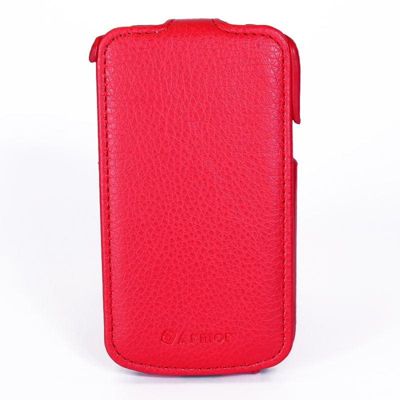 Чехол (флип-кейс) ARMOR-X Flip Full, для Samsung Galaxy Trend, красный