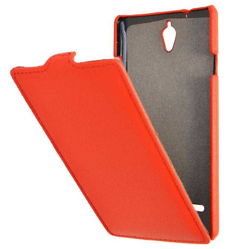 Чехол (флип-кейс) ARMOR-X flip full, для Huawei Ascend G700, красный